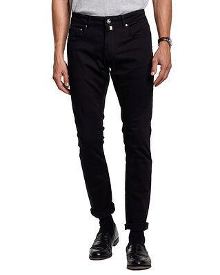 Morris Steve Satin Jeans Zip  Black