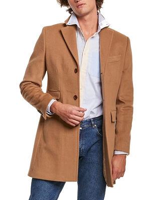 Morris Wesley Wool Cashmere Coat Camel
