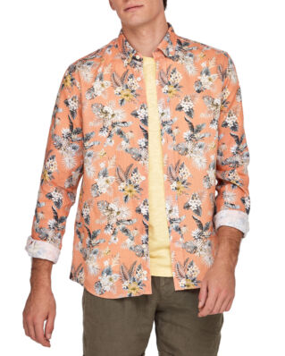 Morris Bradley Button Down Shirt 20 Orange