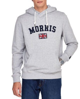 Morris Brown Hood Sweatshirt 91 Grey