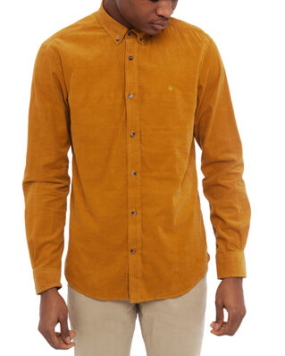 Morris Garth Button Down Shirt 08 Camel