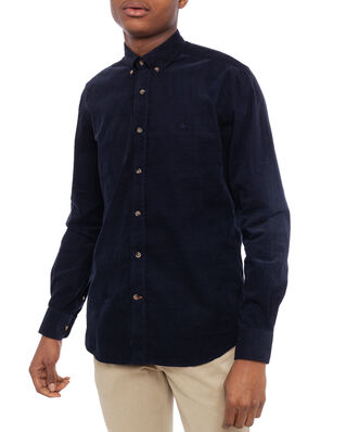 Morris Garth Button Down Shirt 60 Navy