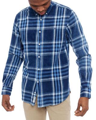 Morris Gene Button Down Shirt 57 Blue