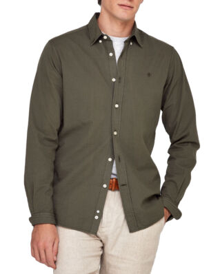Morris Kamden Button Down Collar 77 Olive