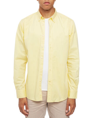 Morris Kane Button Down Shirt 11 Yellow
