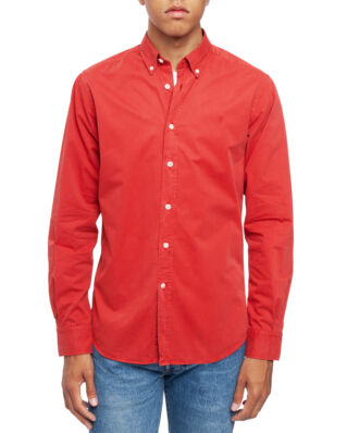 Morris Kane Button Down Shirt 41 Red