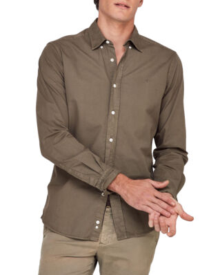 Morris Kane Button Down Shirt 76 Olive