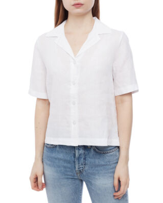 Morris Lady Donna Linen Blouse 01 White