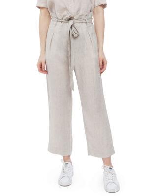 Morris Lady Elba Linen Trousers 05 Khaki