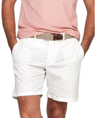 Morris Lt Twill Chino Shorts 02 Off white