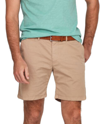 Morris Lt Twill Chino Shorts 06 Khaki