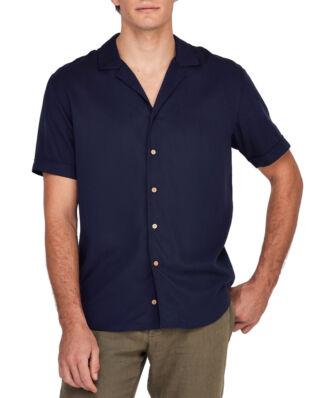 Morris Maui SS Embo Shirt 60 Navy