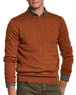 Morris Merino Cable Oneck 09 Camel
