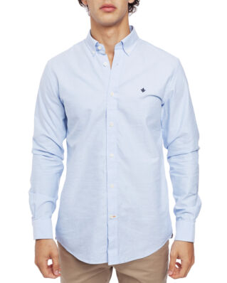 Morris Oxford button down light blue shirt