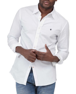 Morris Oxford button down white shirt