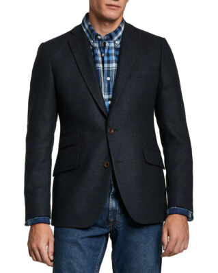 Morris Soft Wool Blazer Navy