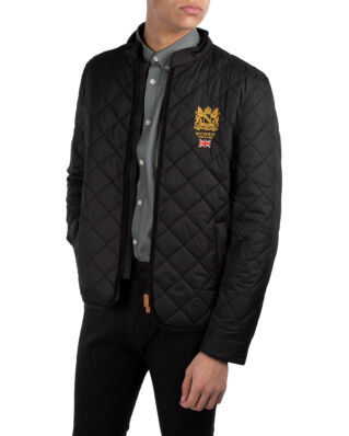 Morris Trenton Quilted Jacket Black