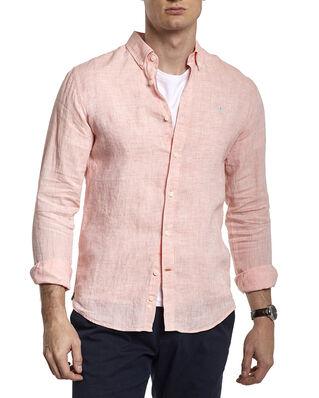 Morris Douglas Linen Shirt 31 Pink
