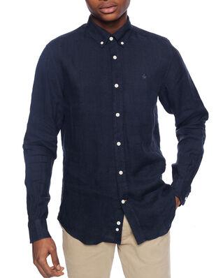 Morris Douglas Linen Shirt 64 Blue