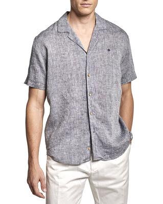 Morris William Bowling Shirt 60 Navy