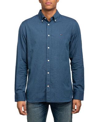 Tommy Hilfiger Natural Soft Shirt Carbon Nvy/Sea Steel