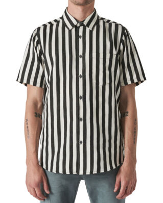 NEUW Work Stripe S/S Shirt Off White Stripe