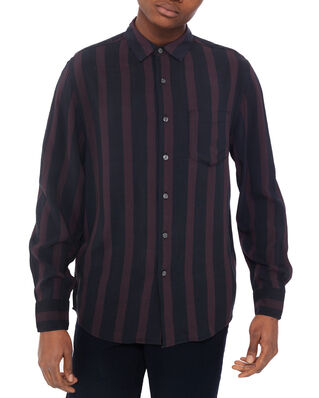 NEUW Stripe Ls Shirt Black Stripe