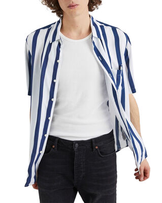 NEUW Stripe Ss Shirt Blue Stripe