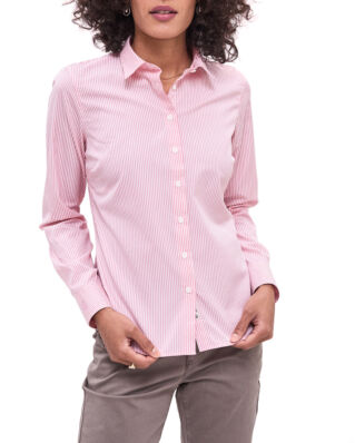 Newhouse Louise Stripe Shirt Pink