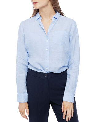 Newhouse Elsa Linen Shirt Light Blue