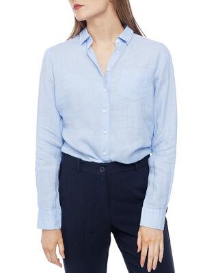 Newhouse Elsa Linen Shirt Light Blue