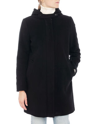 Newhouse Hood Coat Black