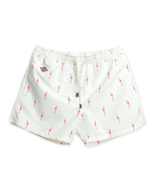 Nikben Swim Shorts Flamingo Yellow
