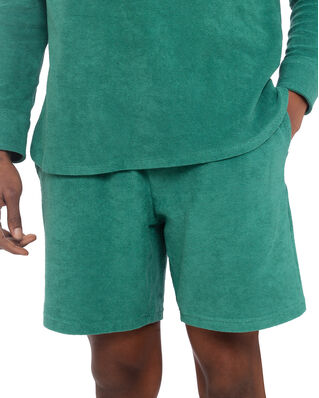 Nikben Terry Shorts Frosty Spruce Green
