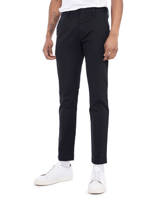 NN07 1420 Theo Regular Cotton Chino Black