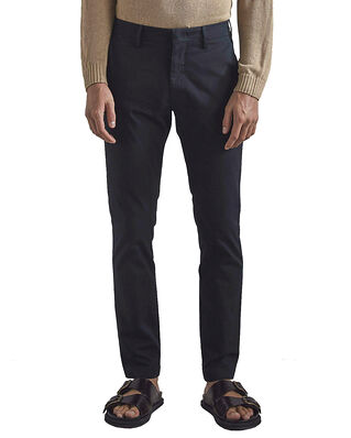 NN07 Theo 1420 Regular BCI Cotton Chino Navy Blue