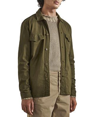 NN07 Bernard 1154 Lyocell Viscose Overshirt Army