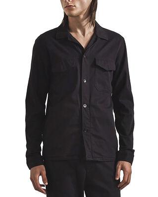 NN07 Bernard 1154 Lyocell Viscose Overshirt Black