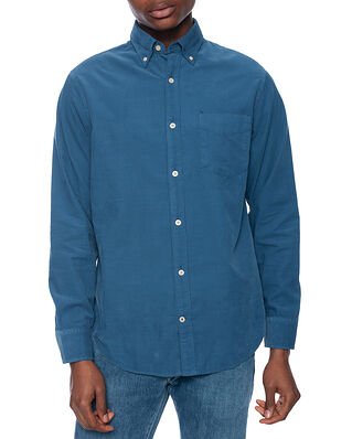 NN07 Levon Shirt 5082 Washed Navy