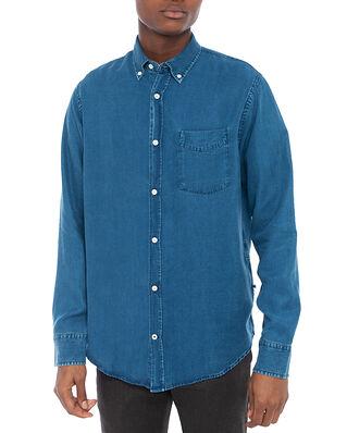 NN07 Levon Shirt 5767 Dark Indigo