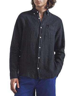 NN07 Levon Shirt Navy Blue