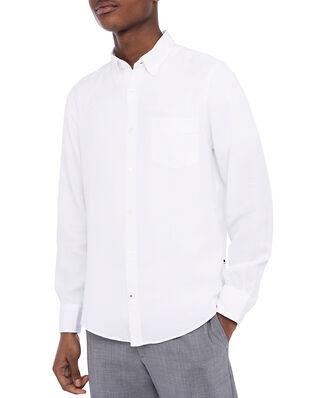 NN07 Manza Slim Lyocell Shirt White