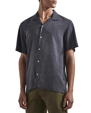 NN07 Miyagi Shirt Lyocell Grey Denim