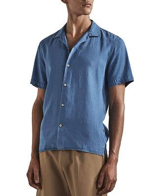 NN07 Miyagi Shirt Lyocell Light Blue