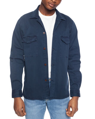 NN07 Berner Overshirt 1100 Navy Blue