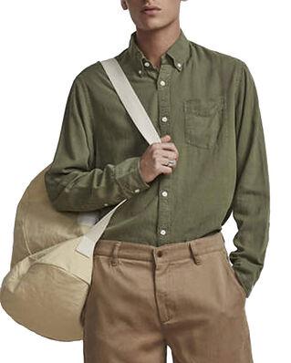 NN07 Levon Shirt 5029 Leaf Green