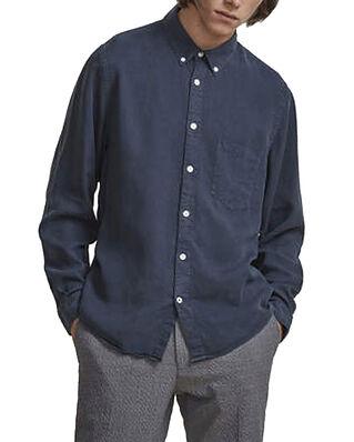 NN07 Levon Shirt 5029 Navy Blue