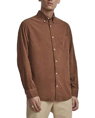 NN07 Levon Shirt 5082 Canela Brown