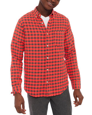 NN07 Levon Shirt 5916 Pink Check