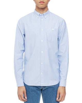 Norse Projects Anton Oxford Pale Blue